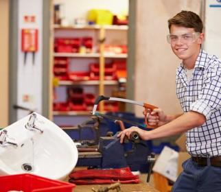 adolescent treballant